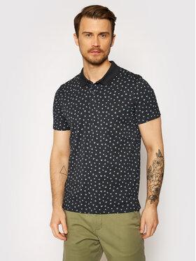 Jack&Jones Jack&Jones Тениска с яка и копчета Minimal Aop 12182881 Тъмносин Regular Fit