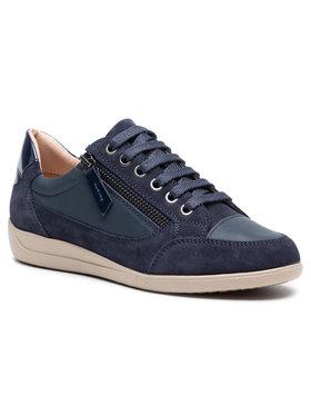 Geox Geox Sneakersy D Myria A D6468A-08522-C4002 Tmavomodrá