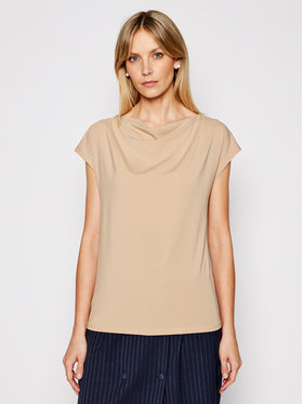 Weekend Max Mara Weekend Max Mara Chemisier Multid 59410211 Beige Regular Fit