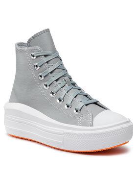 Converse Converse Sneakers aus Stoff Ctas Move Hi 569543C Grau