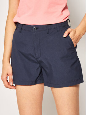 Tommy Jeans Tommy Jeans Шорти от плат Tjw Essential Chino DW0DW07984 Тъмносин Regular Fit