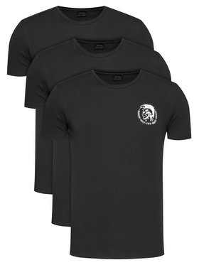 Diesel Diesel Komplet 3 t-shirtów Umtee-Randalthreepack 00SJ5L 0TANL Czarny Slim Fit