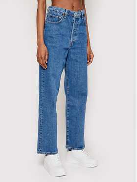 Levi's® Levi's® Jeans Ribcage Straight Ankle 72693-0011 Blu Straight Fit