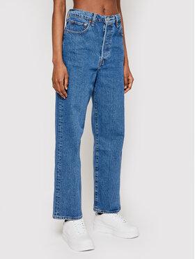 Levi's® Levi's® Jeansy Ribcage Straight Ankle 72693-0011 Modrá Straight Fit