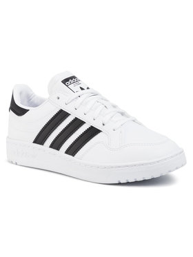 adidas adidas Обувки Team Court J EF6815 Бял