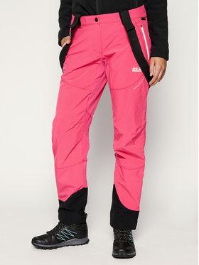 Jack Wolfskin Jack Wolfskin Spodnie narciarskie Gravity Tour 1505121-2054 Różowy Regular Fit