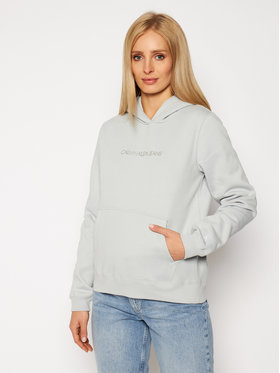 Calvin Klein Jeans Calvin Klein Jeans Džemperis J20J214808 Žalia Regular Fit