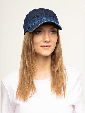 Calvin Klein Jeans Calvin Klein Jeans Kepurė su snapeliu J Intitutional Denim Cap K50K505100 Tamsiai mėlyna