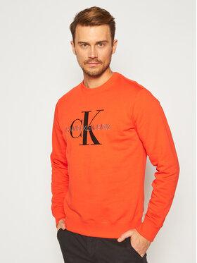 Calvin Klein Jeans Calvin Klein Jeans Džemperis Monogram J30J315595 Raudona Regular Fit