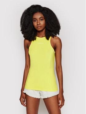 Calvin Klein Jeans Calvin Klein Jeans Top J20J216276 Żółty Skinny Fit