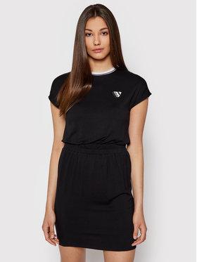 Volcom Volcom Sukienka codzienna Siiya B1312110 Czarny Regular Fit