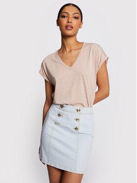 Morgan Morgan Džinsinis sijonas 211-JROX Mėlyna Slim Fit
