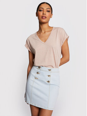 Morgan Morgan Džínsová sukňa 211-JROX Modrá Slim Fit