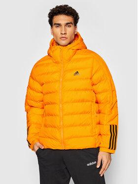 adidas adidas Pehelykabát Itavic 3-Stripes GQ2348 Narancssárga Regular Fit