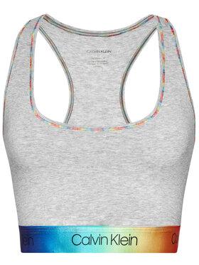 Calvin Klein Underwear Calvin Klein Underwear Podprsenkový top Pride 000QF6595E Sivá