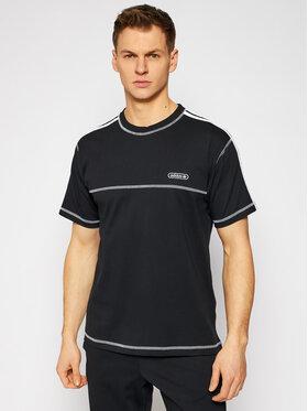 adidas adidas T-shirt Contrast Stitch GN3886 Nero Regular Fit