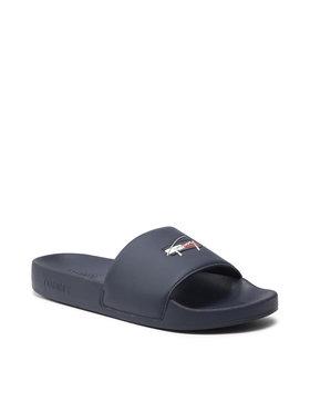 Tommy Jeans Tommy Jeans Klapki Essential Pool Slide EN0EN01431 Granatowy