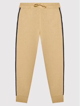 Coccodrillo Coccodrillo Spodnie dresowe ZC1120101STA Beżowy Regular Fit