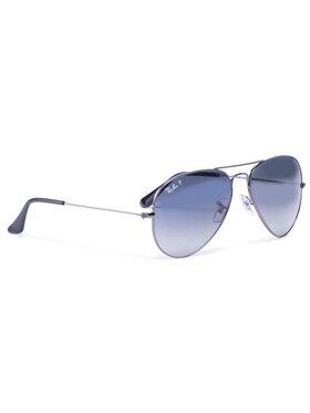 Ray-Ban Ray-Ban Okulary przeciwsłoneczne Aviator 0RB3025 004/78 Szary