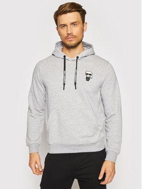 KARL LAGERFELD KARL LAGERFELD Sweatshirt 705027 511900 Grau Regular Fit