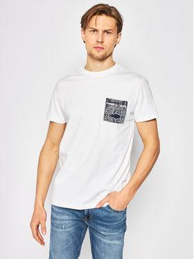 Tommy Jeans Tommy Jeans Marškinėliai Contrast Pocket DM0DM08097 Balta Regular Fit