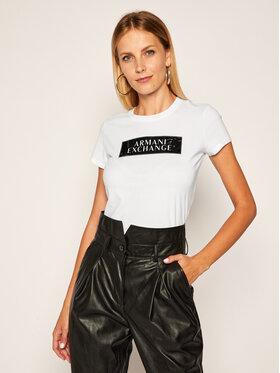 Armani Exchange Armani Exchange T-Shirt 6HYTAA YJ73Z 8173 Bílá Regular Fit