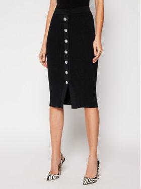 Pinko Pinko Pouzdrová sukně Pattinaggio PE 21 BLK01 1G15TW Y6Z9 Černá Slim Fit