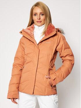 Columbia Columbia Kurtka narciarska Lay D Down™ II 1798441 Pomarańczowy Regular Fit