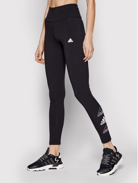 adidas adidas Leggings Essentials Stacked Logo GL1396 Schwarz Extra Slim Fit