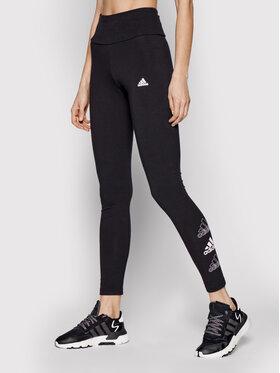 adidas adidas Leginsai Essentials Stacked Logo GL1396 Juoda Extra Slim Fit