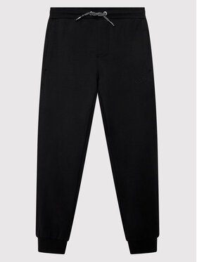 CMP CMP Spodnie dresowe 31D4444 Czarny Regular Fit