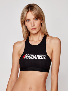 Dsquared2 Underwear Dsquared2 Underwear Biustonosz top D8RG03480 Czarny