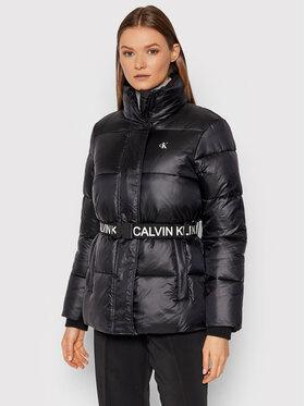 Calvin Klein Jeans Calvin Klein Jeans Vatovaná bunda J20J216859 Čierna Regular Fit