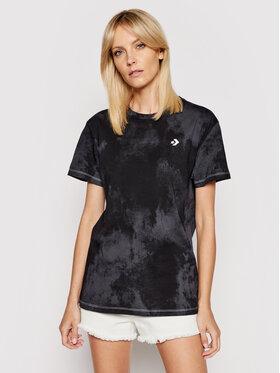 Converse Converse T-shirt Sun Washed Logo 10021466-A01 Noir Regular Fit