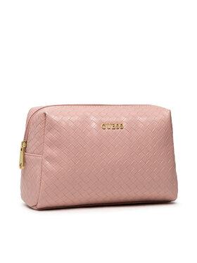 Guess Guess Pochette per cosmetici Emelyn Accessories PWEMEL P1315 Rosa