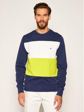 TOMMY HILFIGER TOMMY HILFIGER Sweatshirt Colorblock MW0MW12872 Dunkelblau Regular Fit