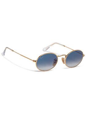 Ray-Ban Ray-Ban Слънчеви очила Oval 0RB3547N 001/3F Златист