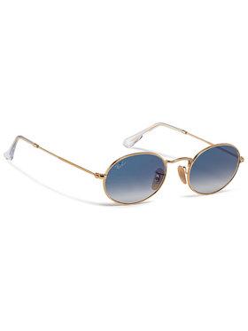Ray-Ban Ray-Ban Slnečné okuliare Oval 0RB3547N 001/3F Zlatá