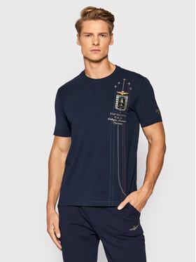 Aeronautica Militare Aeronautica Militare T-Shirt 212TS1900J507 Dunkelblau Regular Fit
