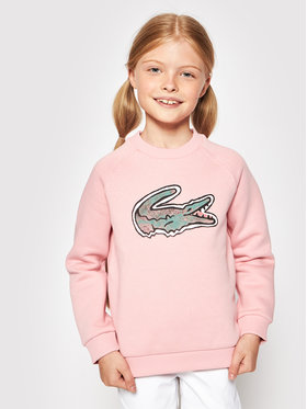 Lacoste Lacoste Bluza SJ0312 Różowy Regular Fit