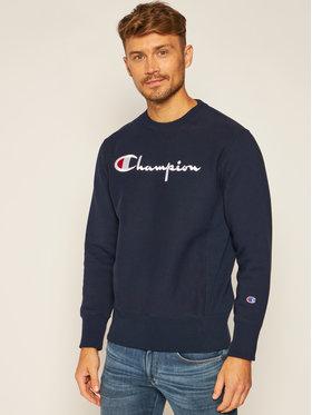 Champion Champion Džemperis Script Logo 215211 Tamsiai mėlyna Custom Fit