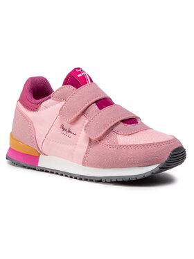 Pepe Jeans Pepe Jeans Sneakersy Sydney Basic Girl PGS30474 Růžová