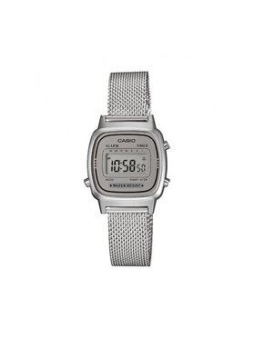 Casio Casio Часовник Vintage LA670WEM-7EF Сребрист
