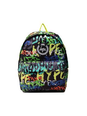HYPE HYPE Ruksak Graffiti Logo BTS21048 Čierna