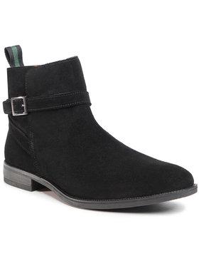 Gino Rossi Gino Rossi Kotníková obuv MI08-C796-798-02 Černá
