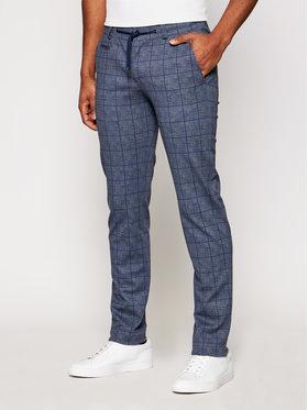 Bugatti Bugatti Текстилни панталони 4036 76821 Тъмносин Regular Fit