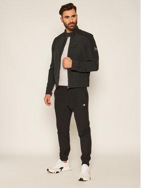 Calvin Klein Calvin Klein Prechodná bunda Casual Biker K10K105600 Čierna Regular Fit