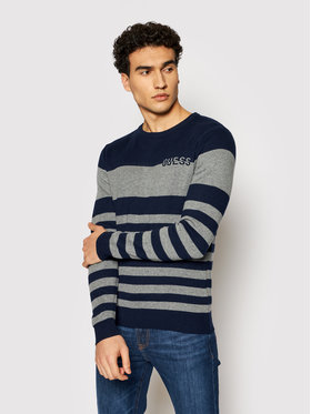 Guess Guess Пуловер M1YR61 Z2UZ0 Тъмносин Regular Fit