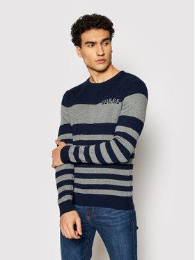Guess Guess Sweter M1YR61 Z2UZ0 Granatowy Regular Fit