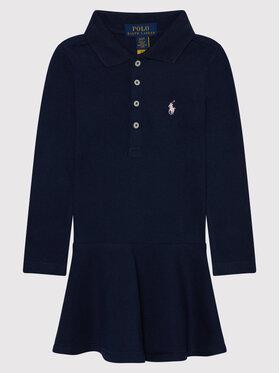 Polo Ralph Lauren Polo Ralph Lauren Ежедневна рокля 313698758005 Тъмносин Regular Fit
